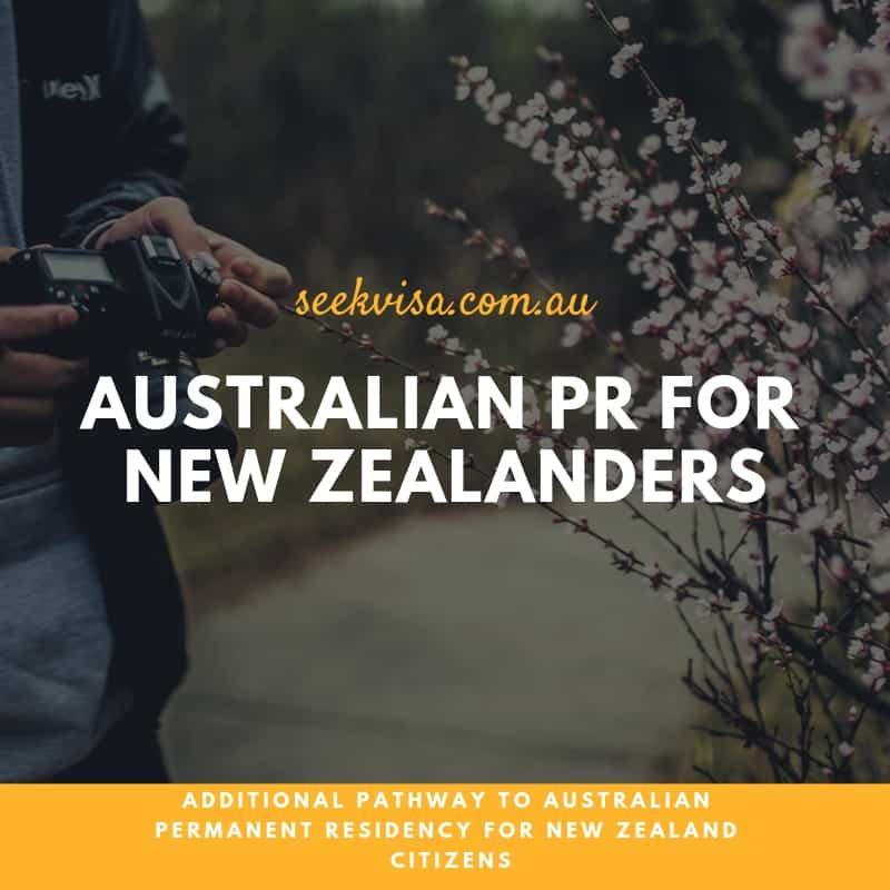 Australian Permanent Residency for New Zealand citizens