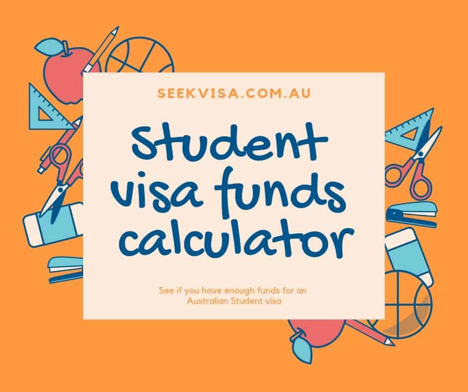 Student visa funds calculator - Australian Migration Agents